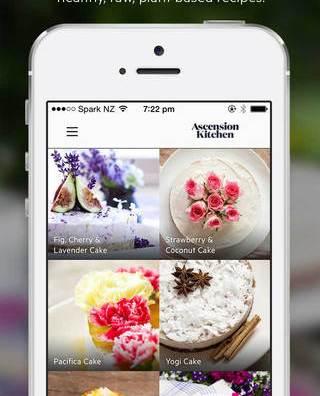 raw dessert app